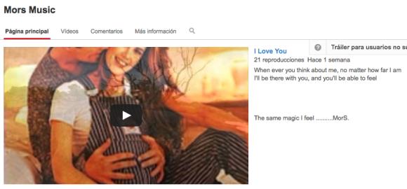 "MorS ""I LOVE YOU"" Video"